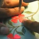 Мануэль - виртуозное владение свободно-ходовой техникой вышивки