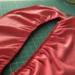 Как шить складки на оверлоке