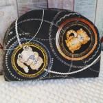 Как сделать сумочку с декором из кругов