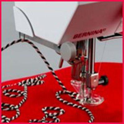 Лапка для вышивки шнуром 21