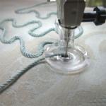 Как вышивать шнуром на машинах Bernina