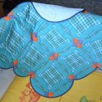 Шьем лоскутное детское одеяло