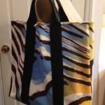 Летняя женская сумка для похода на пляж