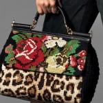 Сумки вышитые крестом от Дольче и Габбана (Dolce&Gabbana)