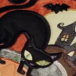 Панно на Хэллоуин от Anita Goodesign