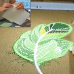 Вышиваем аппликации с помощью Heat Scticк