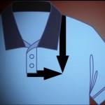 Как определить место расположения логотипа на футболке