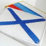Имитируем вышивку структурной тканью