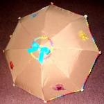 вышитый зонт