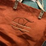 Как сделать вышивку на хозяйственной сумке