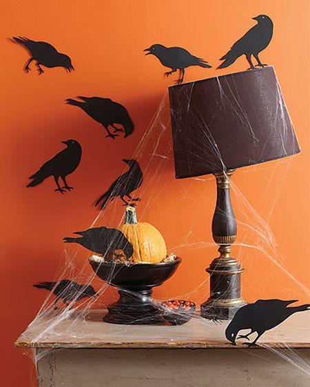 Украшение на хэллоуин идеи