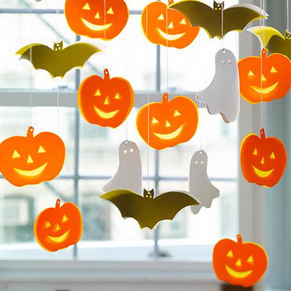 Как украсить комнату к хеллоуину