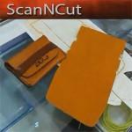 Раскраиваем кошельки из кожи на ScanNCut