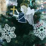 Ангелы и Снежинки на елку