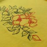 Стабилизаторы для машинной вышивки: Запяливаем отрезной неклеевой