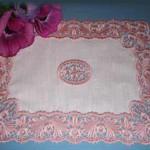 вышивка салфетка