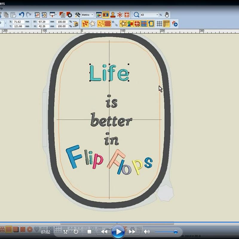 Дизайны шрифтов для машинной вышивки