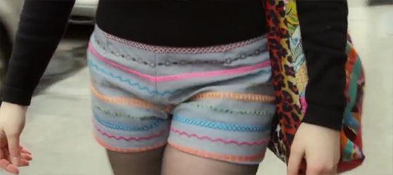 Декоративные строчки: Как сшить летние шорты