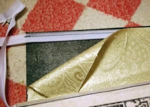Кошелек: Пришивание подкладки