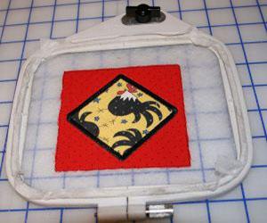 Машинная вышивка: Подставки под кружки