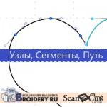 ScanNCutCanvas: прямые и кривые линии