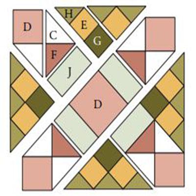 Подушка в прованском стиле: Схема