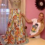 Шелковая юбка-трансформер от Ольги Никишичевой