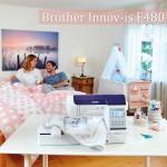 Купить швейно-вышивальную машину Brother Innov-is F480