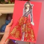 Нарядная юбка от Ольги Никишичевой