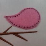 Совместник Сердечная 10х10: Птичка на ветке