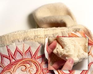 Вышика на трикотаже: Переделка свитера