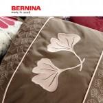 Проект Bernina: Подушка с вышивкой