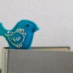 Машинная вышивка: Закладки для книг
