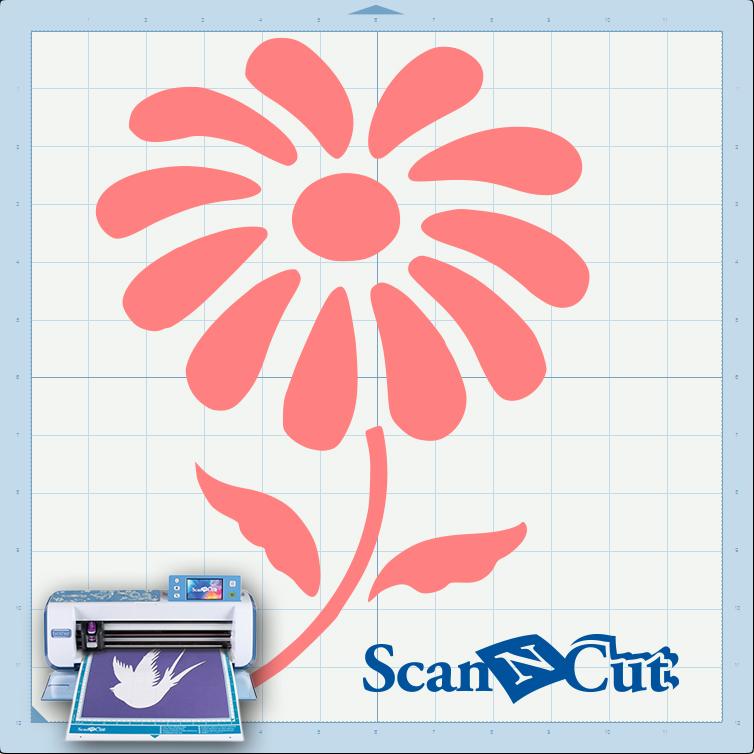 Плоттер ScanNCut: Открытка на 8 марта