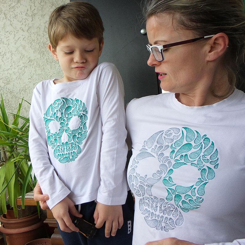 Вышиваем футболки в стиле family look