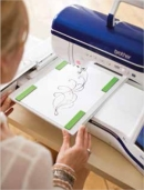Brother Innov-is XV: Сканирование рисунков и вышивание