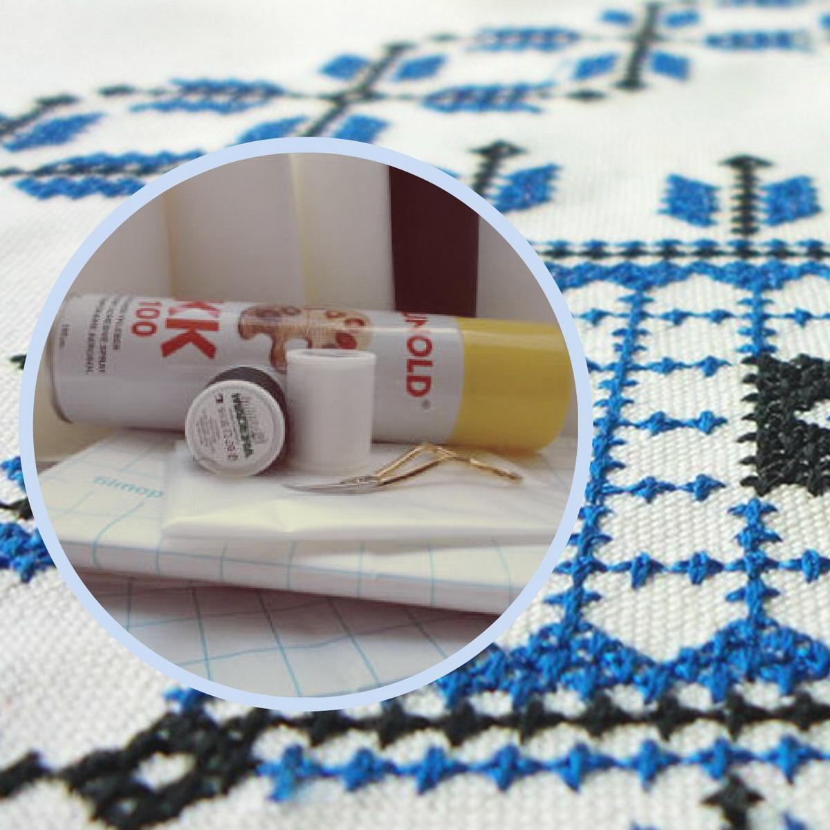 Стабилизаторы для машинной вышивки и другие вспомогательные материалы
