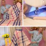 Как сшить юбку с запахом
