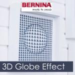 Bernina ES8: Создание 3D Globe эффекта