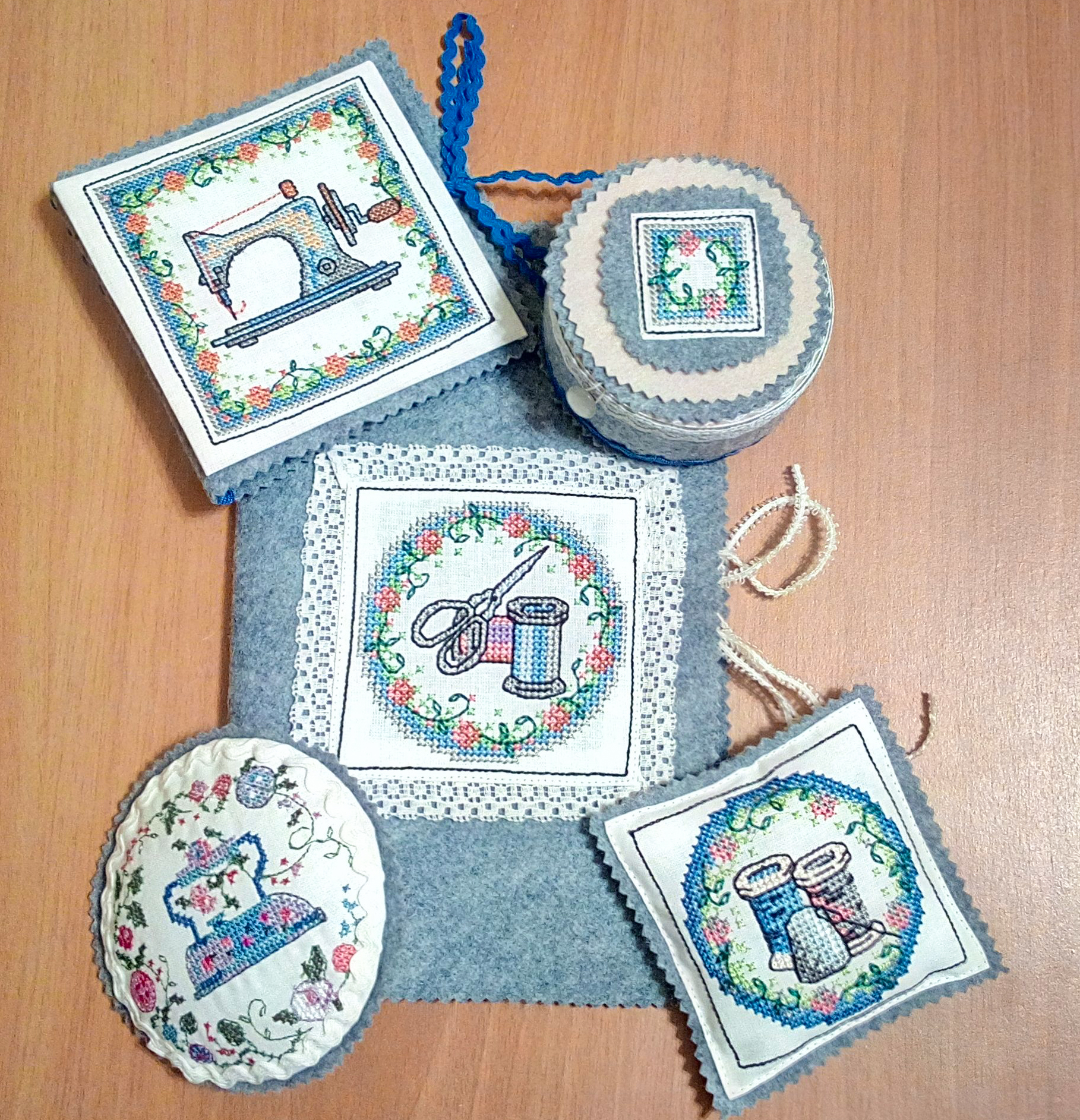 Дизайны вышивки для бернины