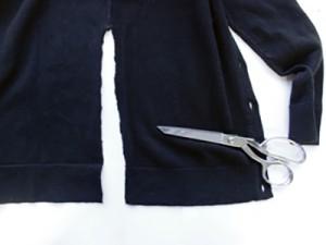 Кардиган с вышивкой и кружевом