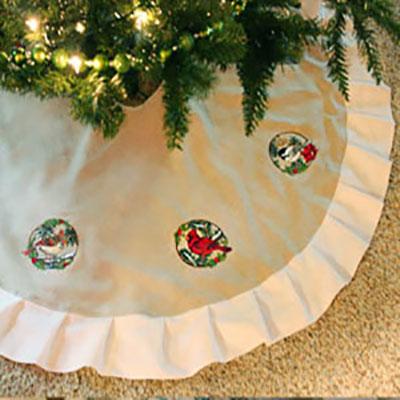 Юбка под елку
