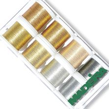 Изображение Коробка ниток Madeira Metallic SMOOTH 8019