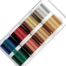 Изображение Коробка ниток  Madeira Metallic CLASSIC 8012