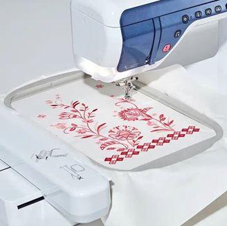 Изображение Технологии машинной вышивки от А до Я