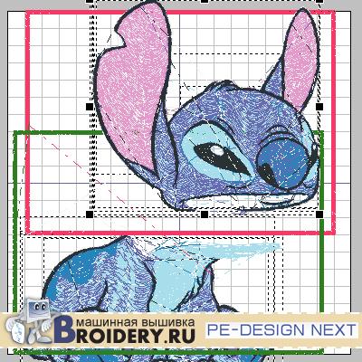 Деление дизайна. PE-Design Next