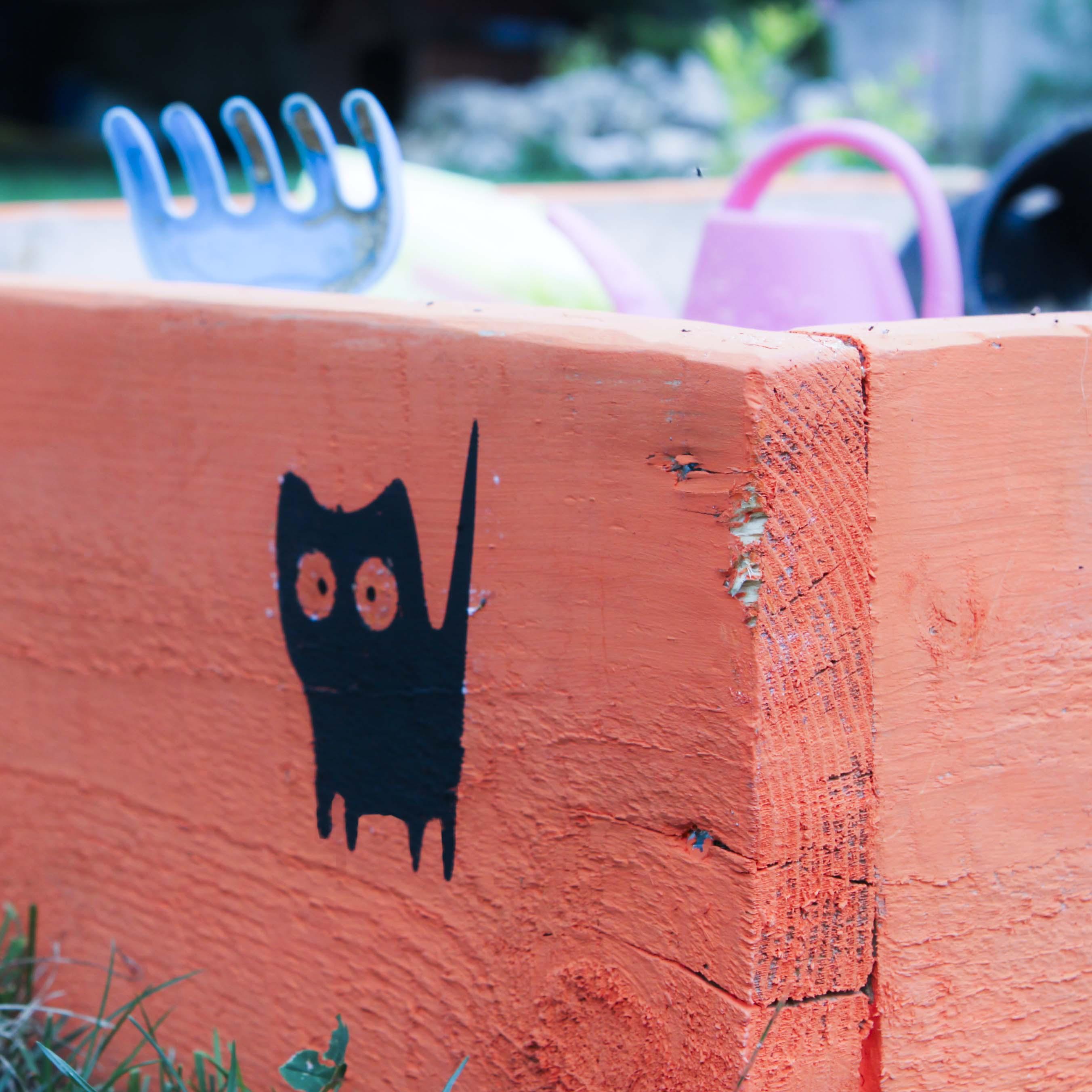 Проекты ScanNcut: котики-трафареты