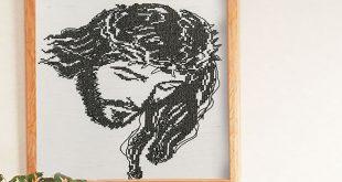 Машинная вышивка: Вышиваем крестом икону